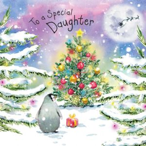 WF18 - Merry Christmas Card for Daughter